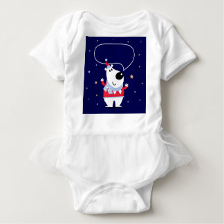 Little cute kids toy smiling baby bodysuit