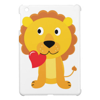 Little cute Lion kids design iPad Mini Case