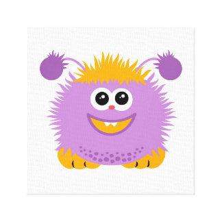 Little Cute Monster Canvas Print