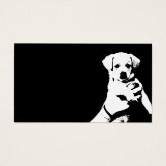 little cute puppy dog business card