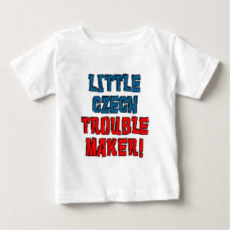 Little Czech Trouble Maker Baby T-Shirt