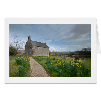 Little Daffodil Church | Greetings Card