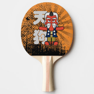 Little Daitengu Yokai Grunge Ping Pong Paddle