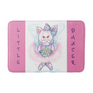 Little Dancer Ballerina Piglet Bath Mat