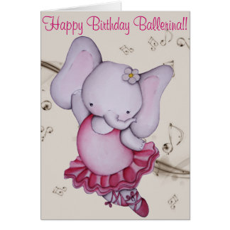 dance birthday cards, dance birthday greeting cards, dance, Birthday card
