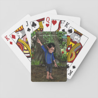 Little Dancing Troll Playing Cards
