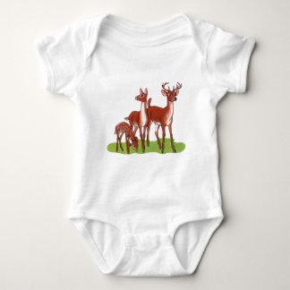 Little Deer Family Baby Bodysuit