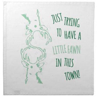 Little Deer Printed Napkin