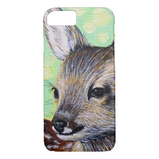 Little Deer Painting iPhone 8/7 Case