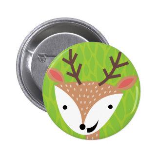 Little Deer - Woodland Friends 2 Inch Round Button