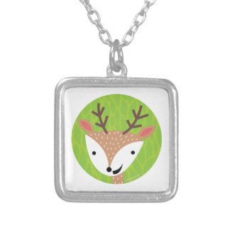 Little Deer - Woodland Friends Silver Plated Necklace