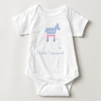 Little Democrat Baby Bodysuit