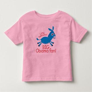Little Democrat - Big Obama Fan! Shirt