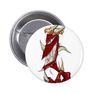 Little Demon Pinback Button