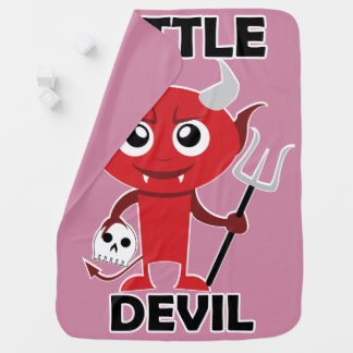 Little Devil - Baby Blanket Swaddle Blankets