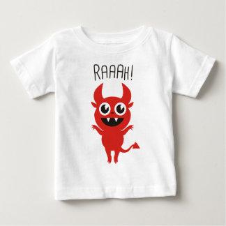Little Devil Goes Raaah! Baby T-Shirt