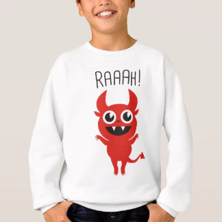 Little Devil Goes Raaah! Sweatshirt
