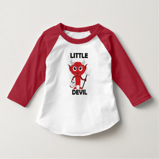 Little Devil - Toddler American Apparel 3/4 Sleeve T-Shirt