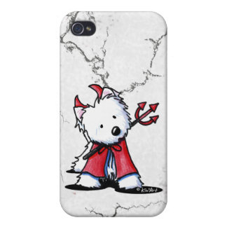 Little Devil Westie Covers For iPhone 4