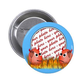 Little Deviled Egg Photo Frame Pin