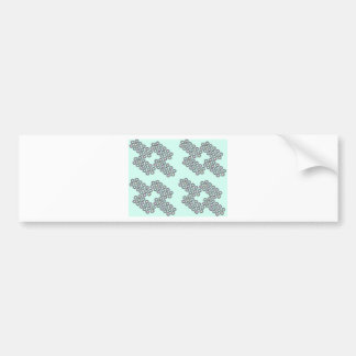 little diamonds bumper sticker