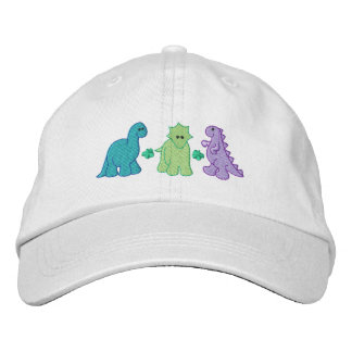Little Dinosaurs Embroidered Hat