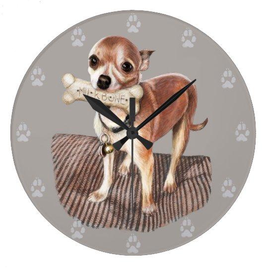 Little Dog, Big Bone Clocks
