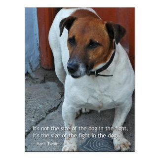 Little Dog Big Heart Postcard