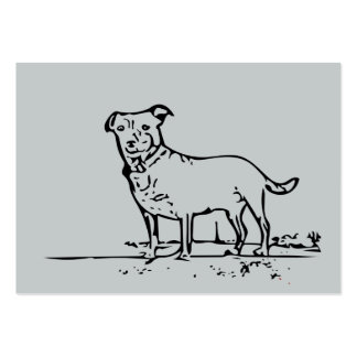 Little Dog Large Business Card