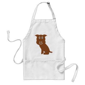 little doggy standard apron