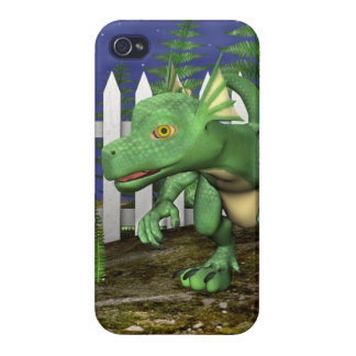 Little Dragon iPhone 4 Cases