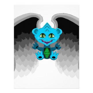 Little Dragon with Wings Letterhead