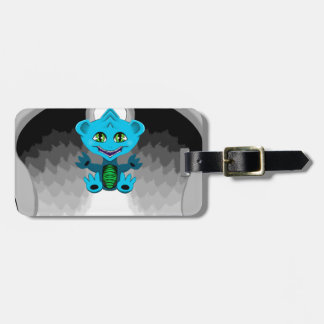 Little Dragon with Wings Luggage Tag