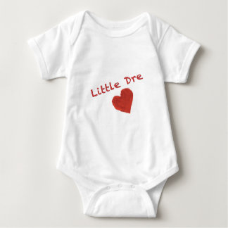 Little Dre Heart Baby Bodysuit