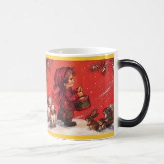 Little drummer boy 11 oz magic heat Color-Changing coffee mug