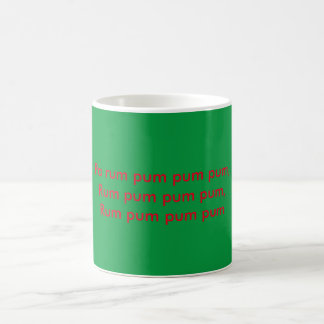 Little drummer boy classic white coffee mug