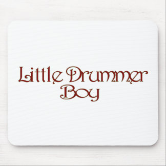 Little Drummer Boy Mouse Pad