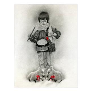 Little Drummer Boy Postcard