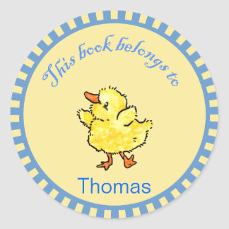 Little Duck Baby Book Stickers
