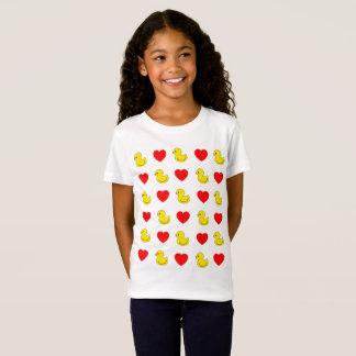 Little Ducks & Heart T-Shirt