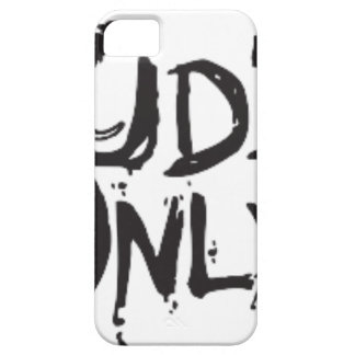 LITTLE DUDES ONLY iPhone 5 COVER