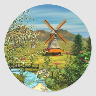 Little Dutch Wunder Bag Classic Round Sticker