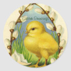 Little Easter Chick Stickers