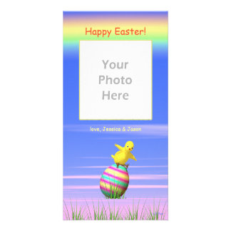 Little Easter Chicken Wings Picture Card