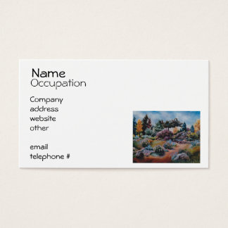 Little Eden Business Card
