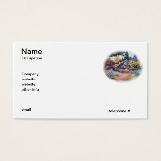Little Eden Business Cards