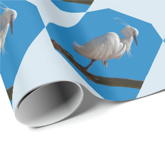 Little Egret Wrapping Paper