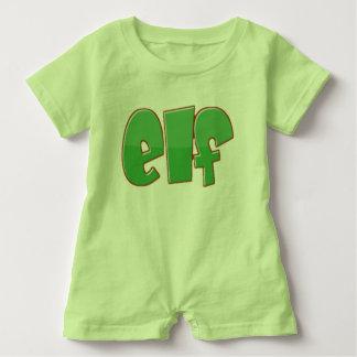 Little Elf Baby Romper