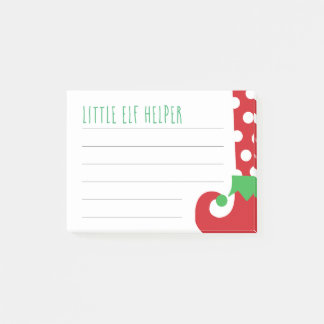 Little Elf Helper Post It Notes