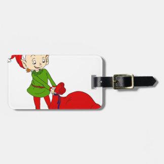 Little elf luggage tag